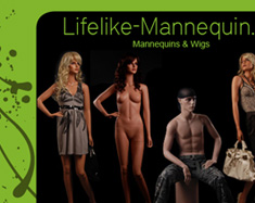 Website Lifelike-Mannequin - Schaufensterpuppen